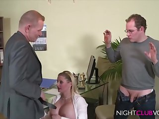 German Office Threesome Orgy Substantiation Work Hd Video - cock sucking