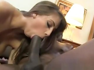 Black Cock Slut Worships Lex Steele Monster Cock