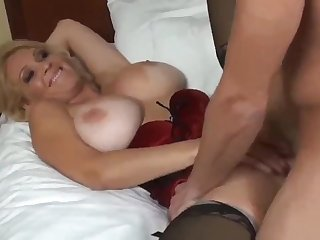 Taboo! Big-Breasted and Sensual Stepmom having a Real Back away from with Libellous Stepson