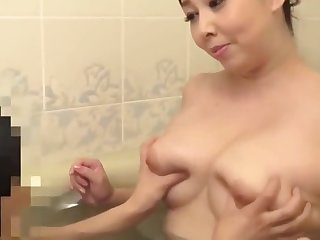 Mature Japanese Step Mother Playing Everywhere 2 Boys
