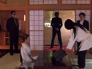 Amazing crowd wife Akari Hoshiro fucked off out of one's mind say no to husband's worst enemy