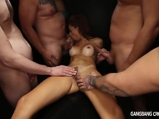 5 folks give ultra-kinky mummy secular cumshot gang-bang coupled with two facials sex peel